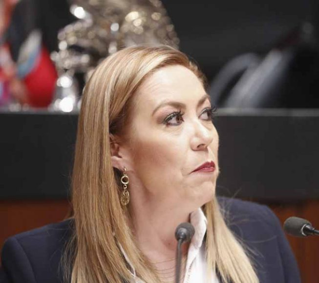 Senadora Alejandra Reynoso Sánchez, al presentar el posicionamiento del GPPAN en relación con el asilo político a Evo Morales Ayma