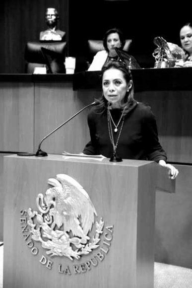 Intervención en tribuna de la senadora Josefina Vázquez Mota para referirse al dictamen de la Comisión de Salud y de Estudios Legislativos, Segunda, con proyecto de decreto por el que se reforman, adicionan y derogan diversas disposiciones de la Ley General de Salud; y de la Ley de los Institutos Nacionales de Salud en materia de creación de Instituto de Salud para el Bienestar.