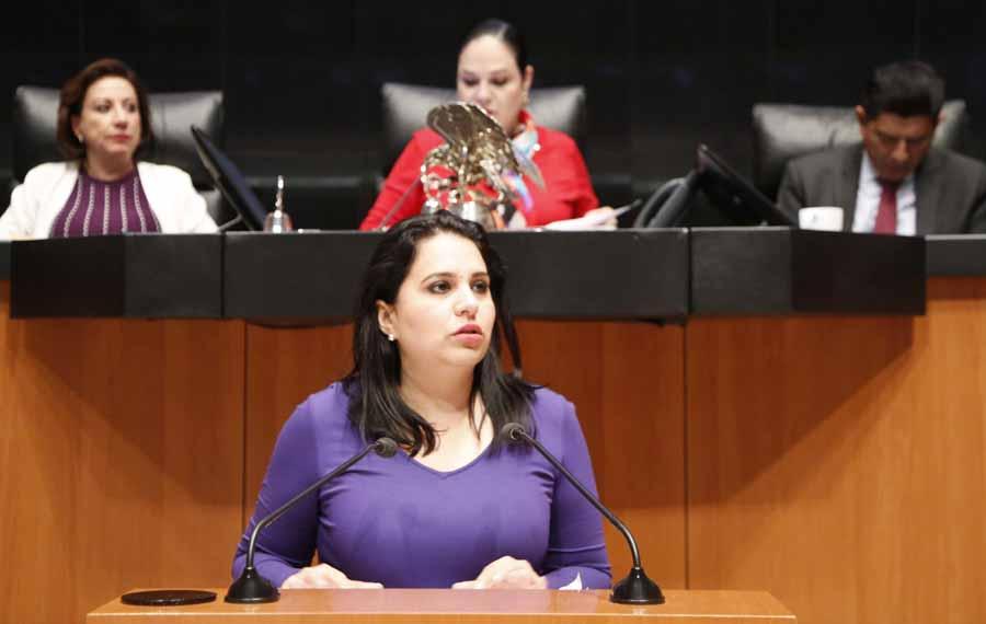 Intervención de la senadora Mayuli Latifa Martínez Simón, al presentar un dictamen de las comisiones unidas del Trabajo y Previsión, y de Estudios Legislativos Primera, por el que se expide la Ley Orgánica del Centro Federal de Conciliación y Registro Laboral.