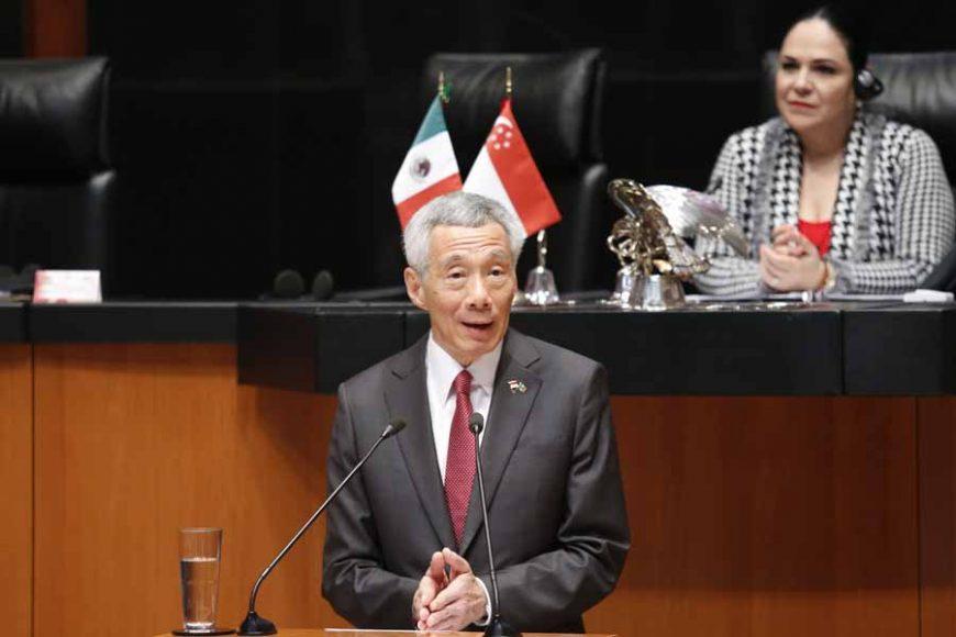 Sesión solemne: Senado de la República recibe la visita del Primer Ministro de Singapur S. E. Sr. Lee Hsien Loong