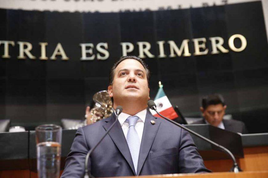 Senador Damián Zepeda Vidales, al intervenir en Tribuna.