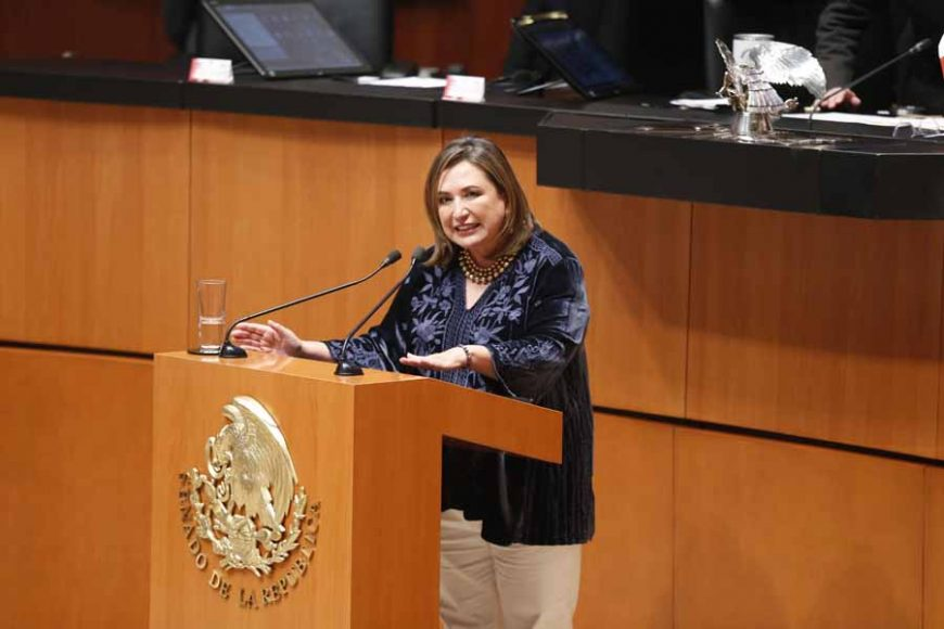Intervención de la senadora Xóchitl Gálvez Ruiz, al participar en la discusión de un Acuerdo de la Jucopo, por el que se propone al Pleno del Senado el nombramiento de las consejeras o consejeros de la Judicatura Federal.