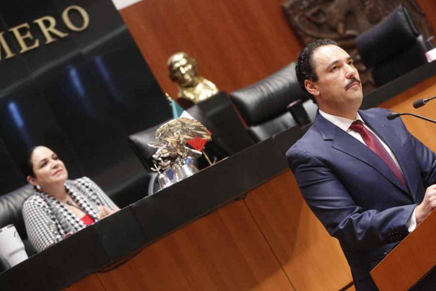 Intervención del senador Juan Antonio Martín del Campo Martín del Campo, al presentar una iniciativa por la que se reforman diversos artículos de la Ley General en Materia de Desaparición Forzada de Personas, Desaparición Cometida por Particulares y del Sistema Nacional de Búsqueda de Personas.