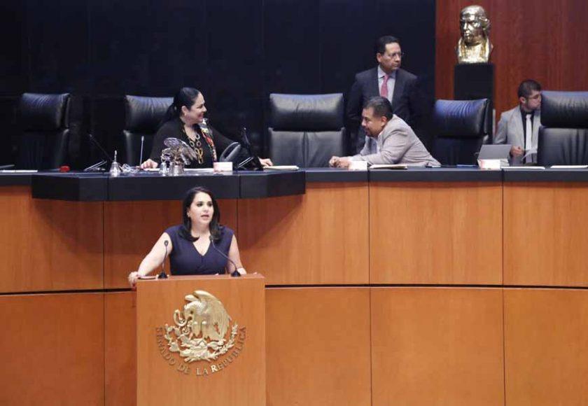 Intervención de la senadora Mayuli Latifa Martínez Simón, al presentar un dictamen de las comisiones unidas de Desarrollo y Bienestar Social, y de Estudios Legislativos Primera, sobre diversas minutas que reforman la Ley de los Derechos de las Personas Adultas Mayores.