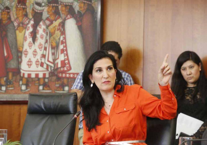 Intervención de la senadora Kenia López Rabadán durante la reunión de trabajo de la Comisión de Trabajo y Previsión Social con la Secretaria de Trabajo y Previsión Social, Luisa María Alcalde Luján.