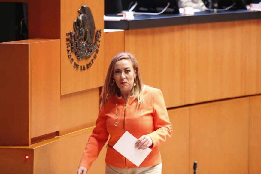 Intervención en tribuna de la senadora Alejandra Reynoso Sánchez para referirse a un dictamen de las Comisiones Unidas de Puntos Constitucionales; y de Estudios Legislativos, Primera, con proyecto de decreto por el que se reforman los artículos 4 y 73 de la Constitución.