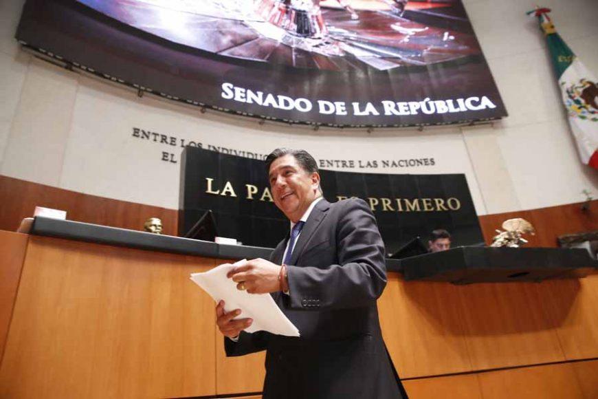 Intervención del senador Marco Antonio Gama Basarte, al presentar una iniciativa que reforma diversos artículos de la Ley General de Comunicación Social.