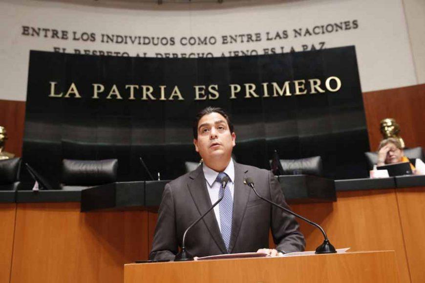 Intervención del senador Ismael García Cabeza de Vaca, al presentar dos iniciativas: una, que reforma el artículo 6 de la Ley de los Órganos Reguladores Coordinados en Materia Energética; y otra, que modifica el artículo 15 de la Ley de Petróleos Mexicanos.