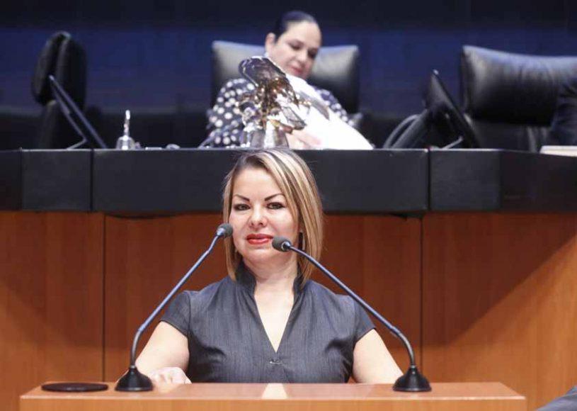 Senadora Minerva Hernández Ramos para referirse a un dictamen de la Comisión de Educación, en materia de educación alimentaria y nutricional