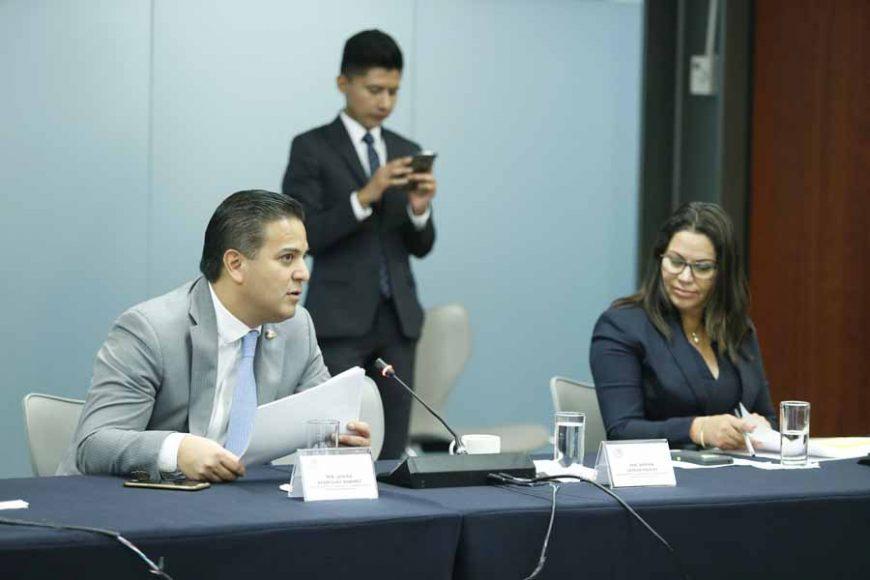 Intervención del senador Damián Zepeda Vidales, en la reunión de la Comisión de Gobernación
