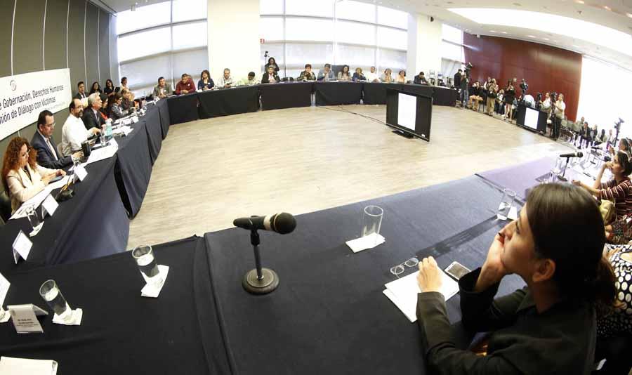 Intervención de la senadora Kenia López Rabadán durante la Reunión de Diálogo de Víctimas con las Comisiones de Gobernación, Derechos Humanos y Justicia.