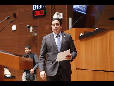 Senador Ismael García Cabeza de Vaca, al presentar dos iniciativas en materia energética