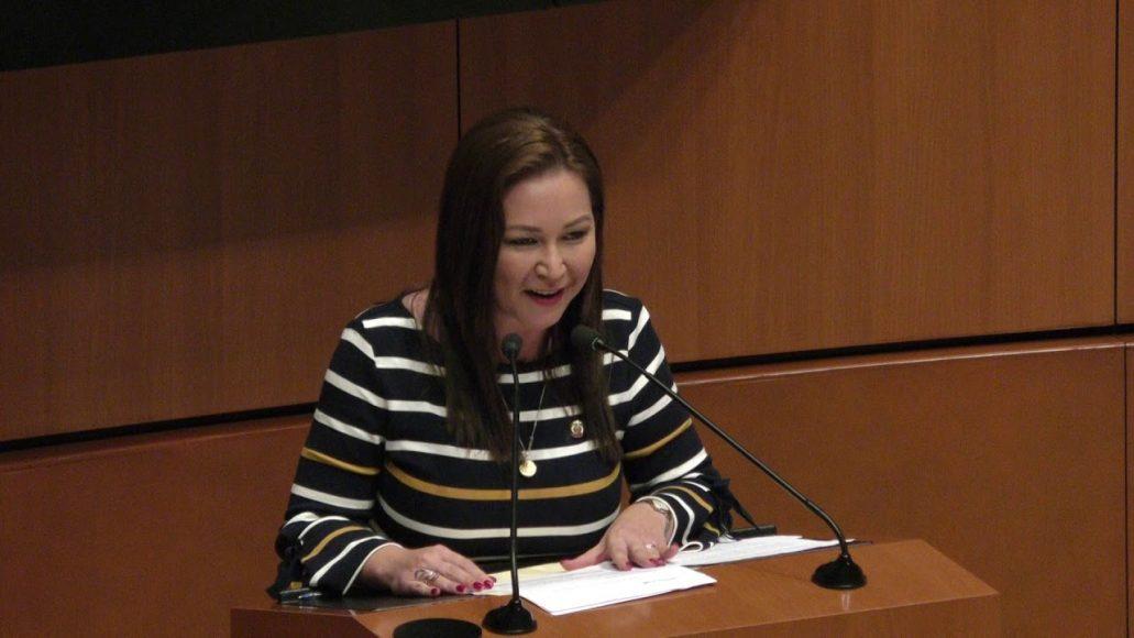 Senadora Mayuli Martínez, al presentar reservas a un dictamen en materia de creación del Instituto de Salud para el Bienestar