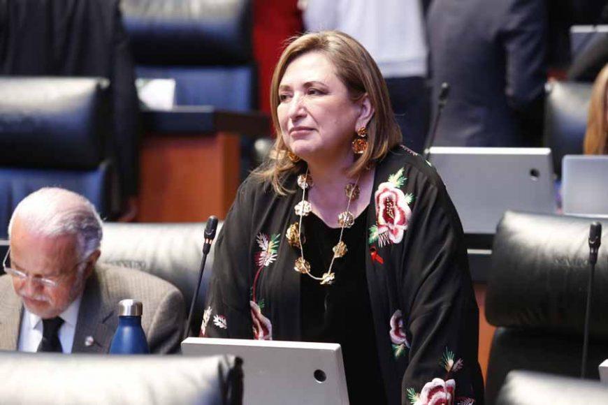 Intervención desde su escaño de la senadora Xóchitl Gálvez Ruiz, mediante el cual subraya que se debe de hacer justicia y fincar las responsabilidades en contra de los jueces que liberaron al ex esposo de la señora Abril Pérez.
