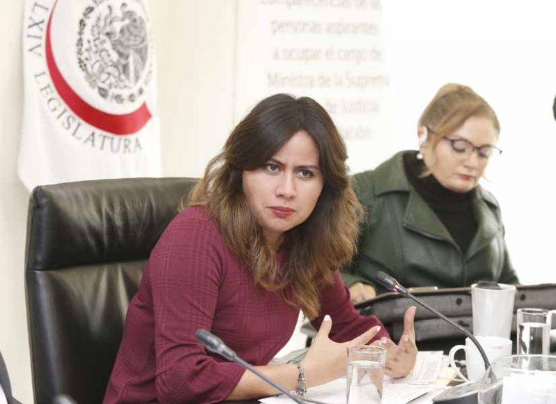 Pregunta de la senadora Indira de Jesús Rosales San Román a Diana Álvarez Maury, candidata a ministra de la Suprema Corte de Justicia de la Nación, durante su comparecencia ante la Comisión de Justicia.
