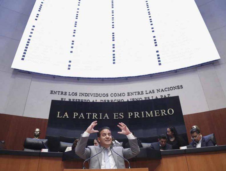 Intervención en tribuna del senador Damián Zepeda Vidales para referirse a un dictamen de la Comisión de Justicia por el que se establecen los requisitos de elegibilidad de las integrantes de la terna presentada por el titular del Poder Ejecutivo Federal, para cubrir la vacante de Ministra de la Suprema Corte de Justicia de la Nación.