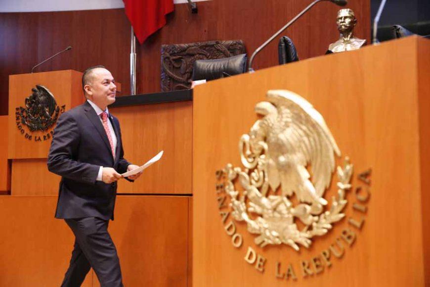 Intervención en tribuna del senador José Erandi Bermúdez Méndez, para presentar iniciativa con proyecto de decreto que deroga el artículo 37 de la Ley del Instituto del Fondo Nacional de la Vivienda para los Trabajadores.