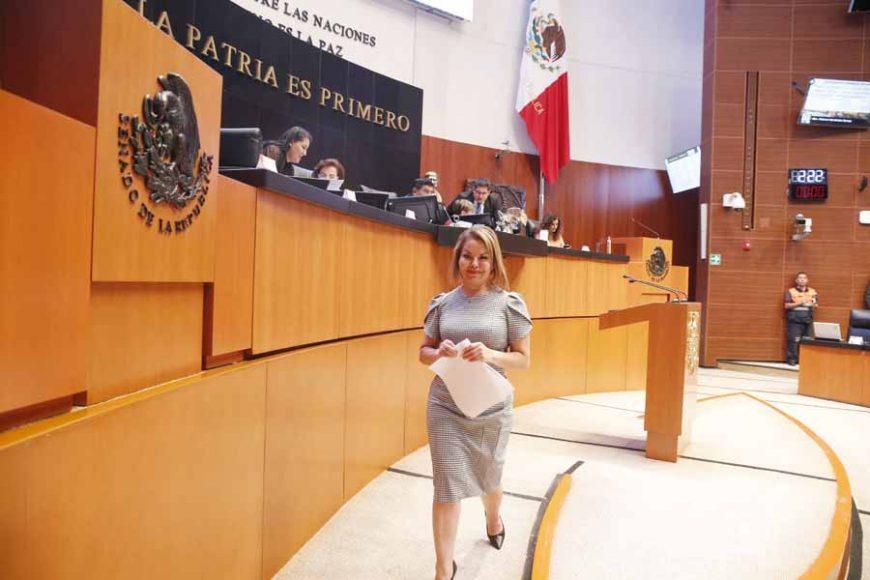 Intervención de la senadora Minerva Hernández Ramos, al presentar una iniciativa que reforma diversas disposiciones de la Ley Federal de Austeridad Republicana.