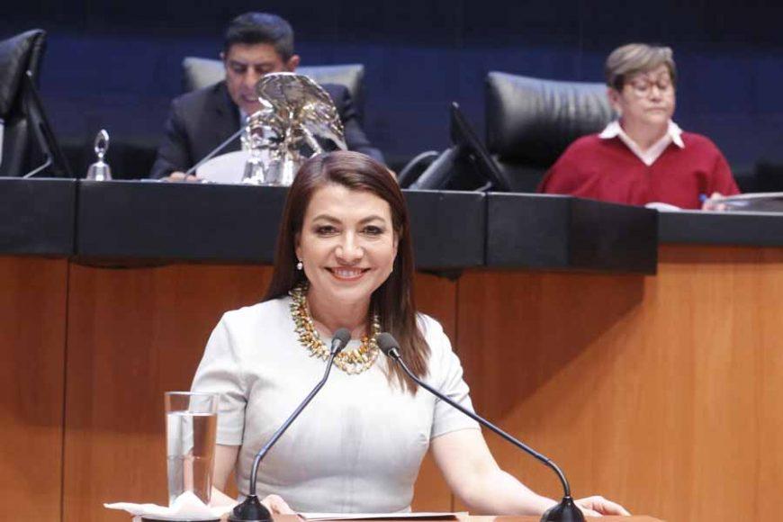 Intervención en tribuna de la senadora Guadalupe Saldaña Cisneros, para presentar iniciativa con proyecto de decreto por el que se adicionan y reforman diversas disposiciones de la Ley General del Equilibrio Ecológico y la Protección al Ambiente; de la Ley General de Desarrollo Forestal Sustentable, y de la Ley Minera.