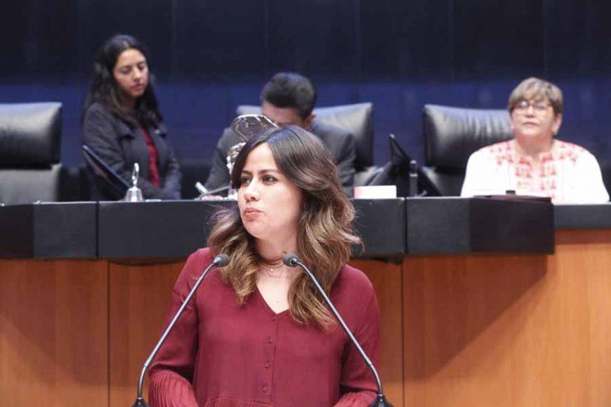 Intervención de la senadora Indira de Jesús Rosales San Román, al presentar una iniciativa que adiciona un segundo párrafo al artículo 79 de la Ley de Hidrocarburos.