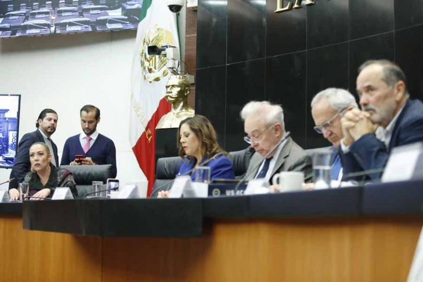Intervención de la senadora Alejandra Reynoso Sánchez, en la reunión de las comisiones unidas de Relaciones Exteriores, de Relaciones Exteriores América del Norte, de Puntos Constitucionales, de Economía y de Trabajo y Previsión Social, para analizar el Protocolo Modificatorio del T-MEC.