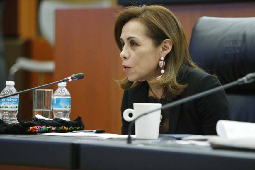 Intervención de la senadora Josefina Vázquez Mota, en la reunión de las comisiones unidas de Relaciones Exteriores, de Relaciones Exteriores América del Norte, de Puntos Constitucionales, de Economía y de Trabajo y Previsión Social, para analizar el Protocolo Modificatorio del T-MEC.