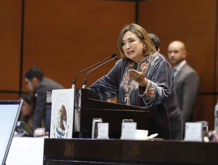 Intervención en tribuna de la senadora Xóchitl Gálvez Ruiz para referirse a un punto de acuerdo relativo a la consulta del tren maya.