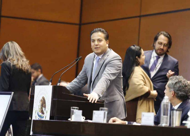 Intervención en tribuna del senador Damián Zepeda Vidales para referirse a un punto de acuerdo relativo a la consulta del tren maya.