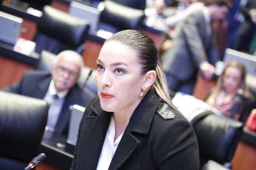 Intervención desde su escaño de la senadora Martha Cecilia Márquez Alvarado para referirse a la crisis que vive el sector salud y solicitar el cambio del orden del día.