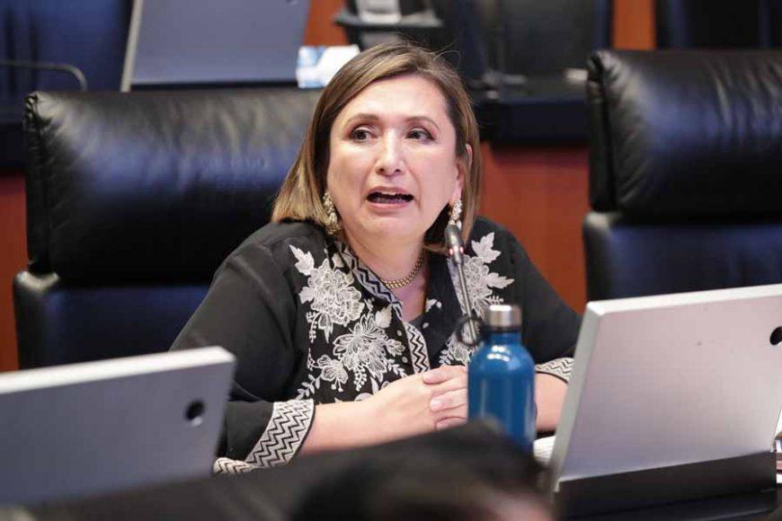 Intervención de la senadora Xóchitl Gálvez Ruiz, desde su escaño, para referirse a la situación de Chilapa, Guerrero.