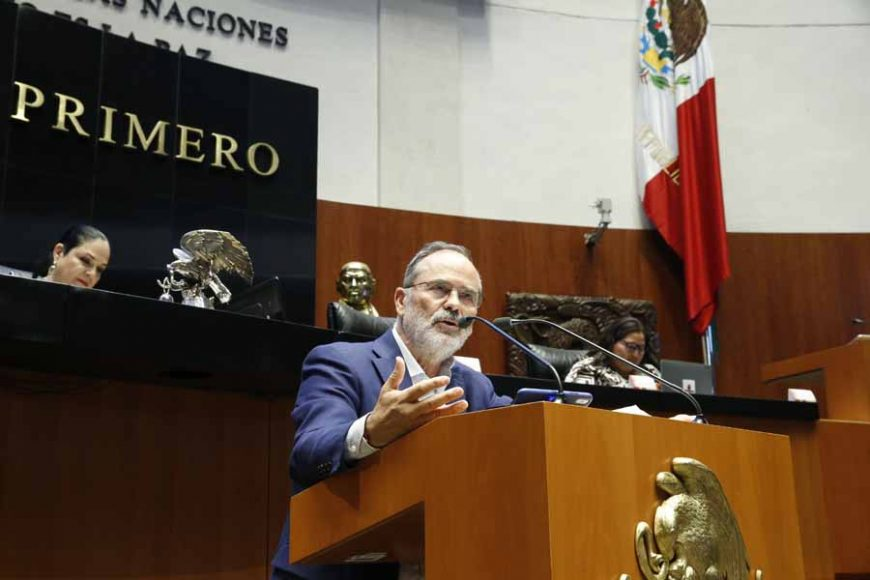 Intervención del senador Gustavo Madero Muñoz, al presentar el posicionamiento del GPPAN respecto a la declaratoria de reforma constitucional del proyecto de decreto por el que se reforma el primer párrafo del artículo 28 de la Carta Magna, en materia de condonación de impuestos.