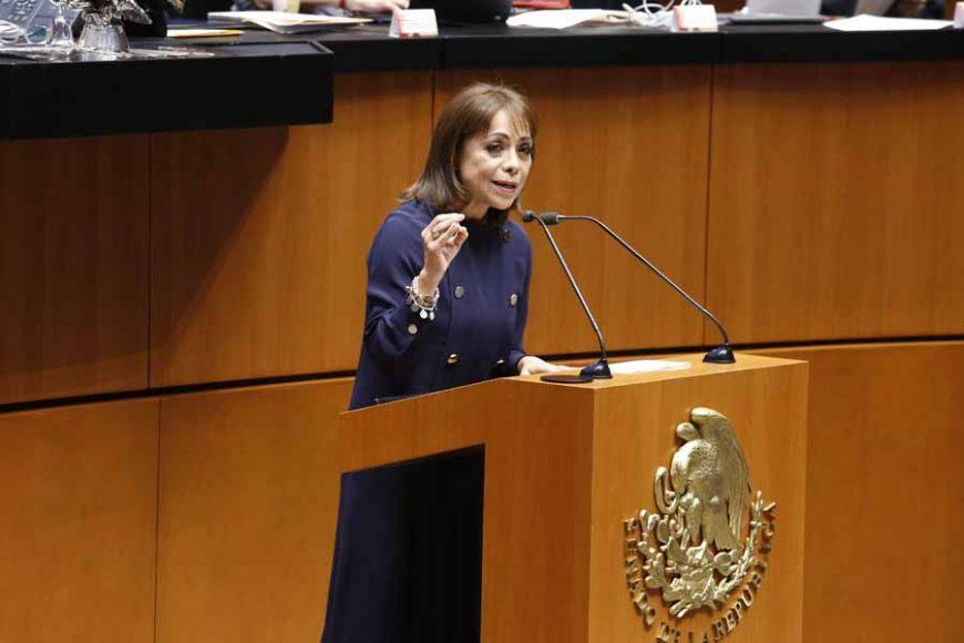 Intervención en tribuna de la senadora Josefina Vázquez Mota para referirse a un dictamen de las Comisiones Unidas Para la Igualdad de Género y de Estudios Legislativos, con proyecto de decreto por el que se reforman y adicionan diversas disposiciones de la Ley General de Acceso de las Mujeres a una Vida Libre de Violencia.