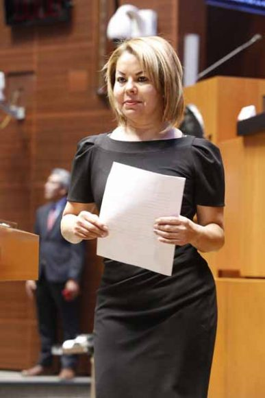 Senadora Minerva Hernández Ramos presenta iniciativa que modifica el artículo 17 de la Ley Federal para la Prevención e Identificación de Operaciones con Recursos de Procedencia Ilícita