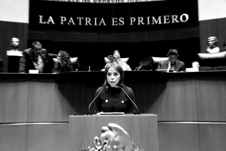 Intervención en tribuna de la senadora Josefina Vázquez Mota, al presentar iniciativa con proyecto de decreto por el que se reforman y adicionan diversas disposiciones de la Ley Orgánica de la Fiscalía General de la República.