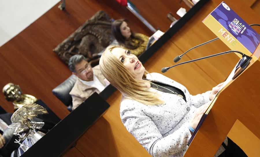 Intervención en tribuna de la senadora Alejandra Noemí Reynoso Sánchez, para presentar iniciativa con proyecto de decreto que reforma el artículo 52 de la Ley General de Educación.