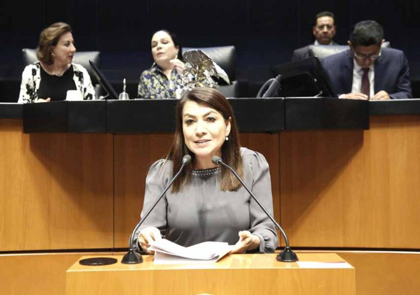 Intervención en tribuna de la senadora María Guadalupe Saldaña Cisneros, para presentar iniciativa con proyecto por el que se reforman y adicionan diversas disposiciones de la Ley General de Pesca y Acuacultura Sustentables.