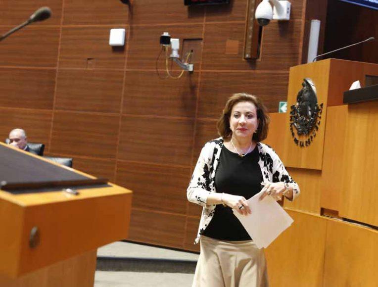 Intervención en tribuna de la senadora María Guadalupe Murguía Gutiérrez, para presentar iniciativa con proyecto de decreto que reforma los artículos 110, 111 y 112 de la Constitución Política de los Estados Unidos Mexicanos.