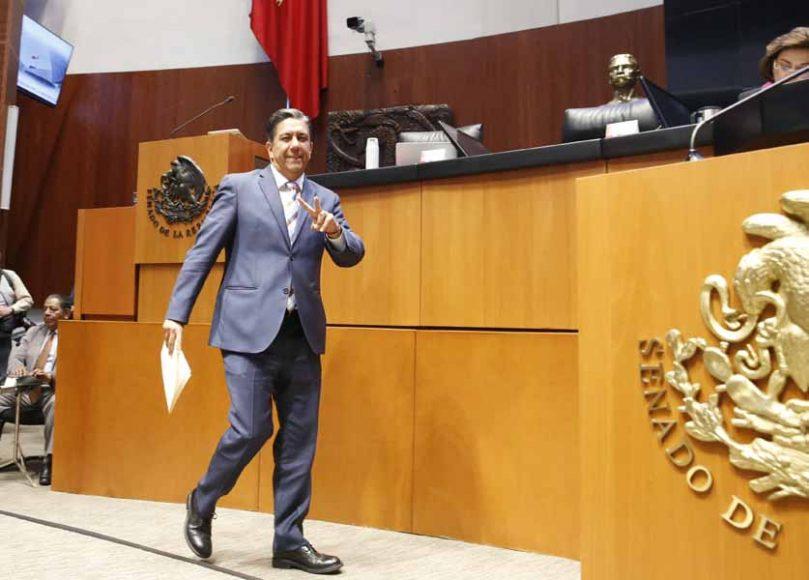 Intervención del senador Marco Antonio Gama Basarte, al presentar una iniciativa que reforma la fracción IX del artículo 256 de la Ley Federal de Telecomunicaciones y Radiodifusión.