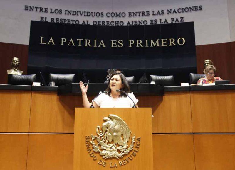 Intervención en tribuna de la senadora Nadia Navarro Acevedo, para presentar punto de acuerdo por el que se exhorta a las autoridades encargadas de la seguridad pública en el estado de Puebla y en particular a la presidenta municipal del Honorable Ayuntamiento de Puebla, para que emprendan acciones urgentes y contundentes para combatir la delincuencia en el estado y, en especial, se proteja a los niños, niñas y mujeres de esa entidad federativa.