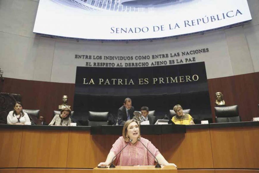 Intervención de la senadora Xóchitl Gálvez Ruiz, al participar en la discusión de dictamen de la Comisión de Educación que exhorta a la Secretaría de Educación Pública, al gobernador del estado de Hidalgo y a la Secretaría de Educación Pública del gobierno de ese estado a resolver la reapertura de la Escuela Normal Rural Luis Villarreal del Mexe.