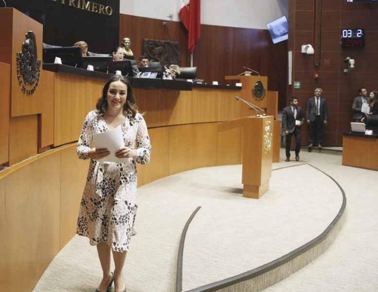 Intervención de la senadora Martha Cecilia Márquez Alvarado, al presentar una iniciativa que adiciona una fracción II Bis al artículo 17 Bis y se agrega un nuevo párrafo al artículo 28 de la Ley General de Salud