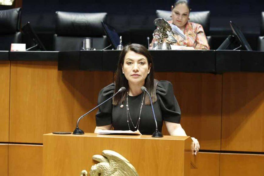 Intervención en tribuna de la senadora María Guadalupe Saldaña Cisneros, para presentar iniciativa con proyecto de por el que se adiciona el artículo 76 de la Constitución Política de los Estados Unidos Mexicanos.