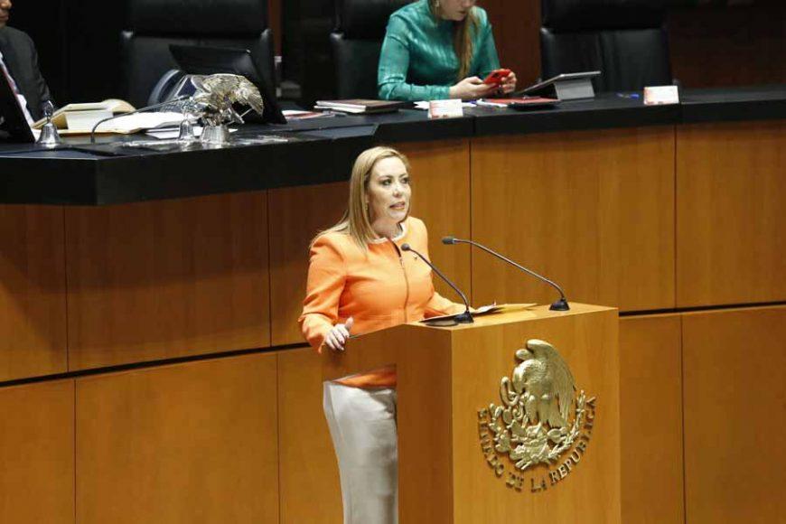 Intervención de la senadora Alejandra Noemí Reynoso Sánchez, al presentar una iniciativa que reforma diversos artículos de la Ley de los Derechos de las Personas Adultas Mayores y agrega el Título Séptimo para crear la Comisión del Fomento al Empleo Formal de los Adultos Mayores.