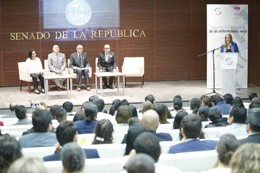 Discurso de la senadora Alejandra Reynoso Sánchez, al inaugurar el Segundo Foro Nacional de las Enfermedades Raras