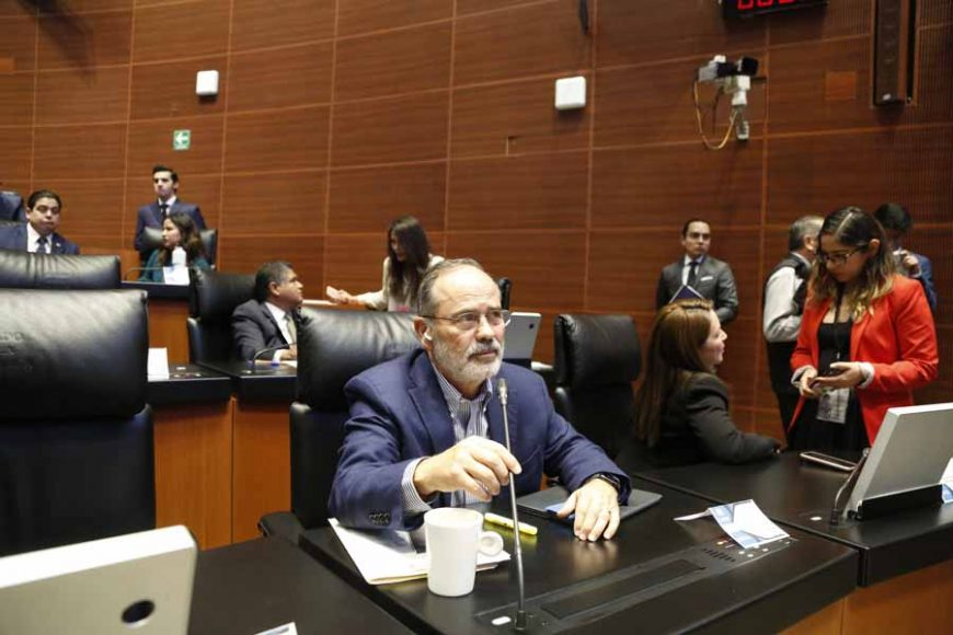 Intervención del senador Gustavo Madero Muñoz, desde su escaño, al referirse al 107 aniversario luctuoso de Gustavo A. Madero y de Adolfo Bassó