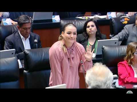 Acusa senadora Márquez desvío de recursos en cheque que fiscal entregó al presidente
