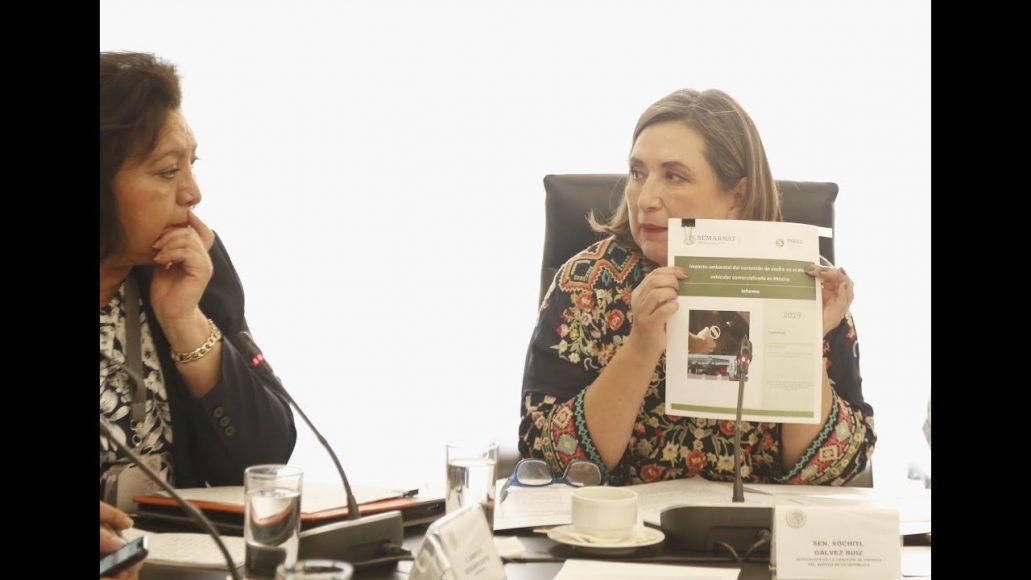 Pregunta de la senadora Xóchitl Gálvez Ruiz a Guadalupe Escalante Benítez, durante su comparecencia ante la Comisión de Energía