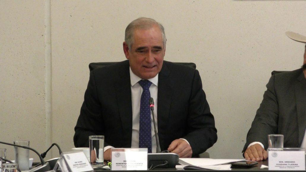 Senador Julen Rementería del Puerto para referirse al dictamen para la ratificación de María Vargas Suárez como comisionada independiente de la CFE