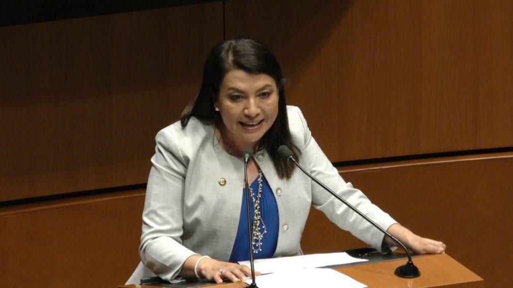 Senadora Guadalupe Saldaña Cisneros para referirse a un dictamen de la Comisión de Relaciones Exteriores América del Norte
