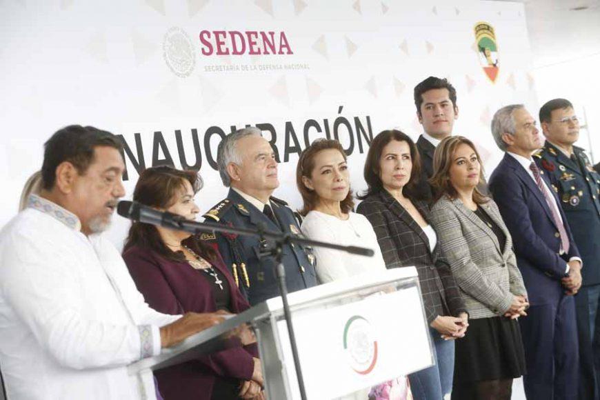 Senadora Josefina Vázquez Mota en la inauguración diplomado Defensa Nacional.